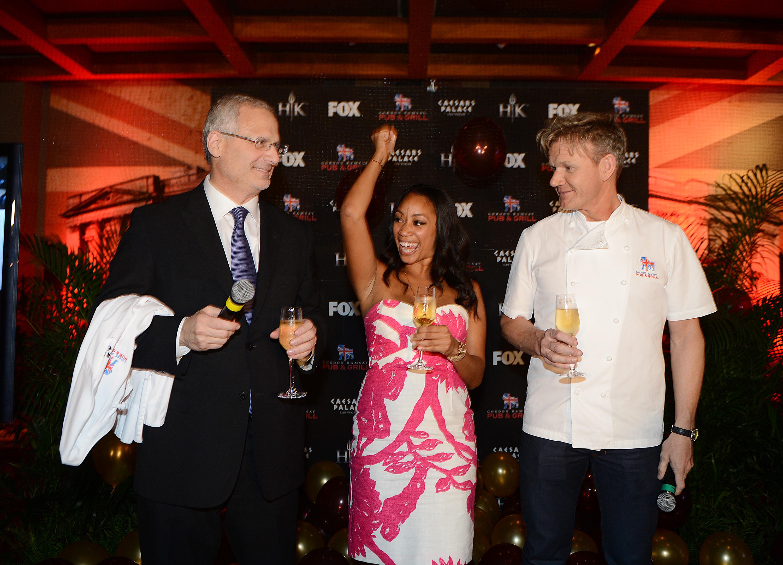 """Chef Gordon Ramsay Awards Ja'nel Witt, Season 11 Winner of """"Hell's ..."""