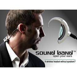 Sound Band, soundband, hybra, hybratech, ambient sound headphones, new technology headphones, intuit big game