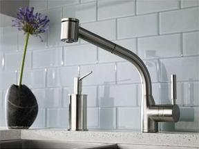 Rohl R7923 Side Lever Pull Out Kitchen Faucet From The Modern Series ...
