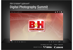 B&H Adobe Lightroom Digital Summit was held at the Jacob Javits Convention Center