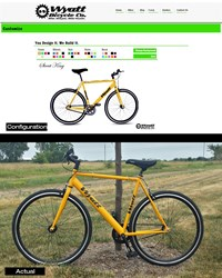 Wyatt Bicycle Co Product Configurator