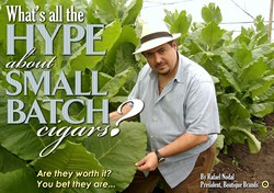 boutique blends, aging room cigars, boutique cigars, small batch cigars