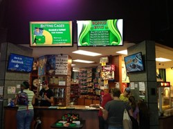 Fun Fore All Equips its Recreational Center with Digital Signage and Menu Board Systems to Enhance Visitor Experience
