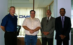 Fagor Automation CEO & North America General Manager meet with DMS CEO & Executive Vice President