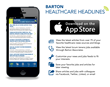 Barton Associates Launches Healthcare Headlines App for iOS