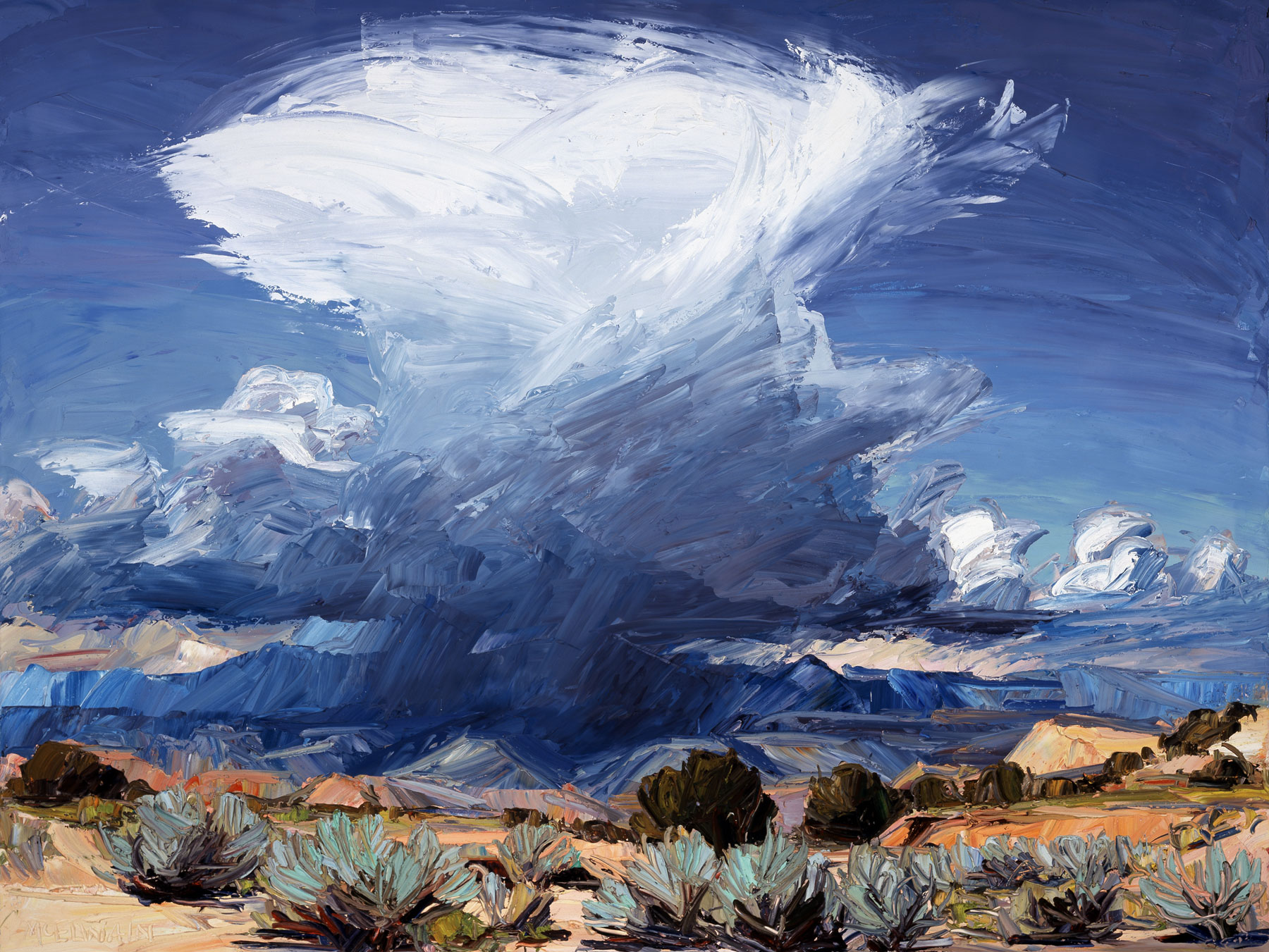 Canvas Santa Fe >> Experience a Forty Year Retrospective of New Mexico Master Painter, Louisa McElwain during the ...
