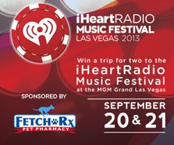 iHeartRadio Music Festival 2013 sponsored by FetchRx