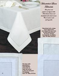 Fine Linen Tablecloth, Fine Linen Table Cloth