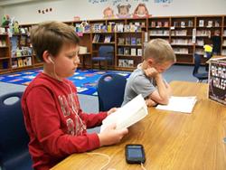 Elementary students from Oak Ridge district in Lubbock Texas