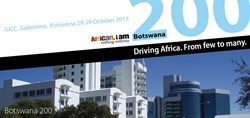 Botswana 200 Business Assembly October 29, 2013