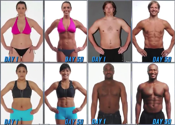 insanity workout women cast Success Ryan Gosling Before And After ...