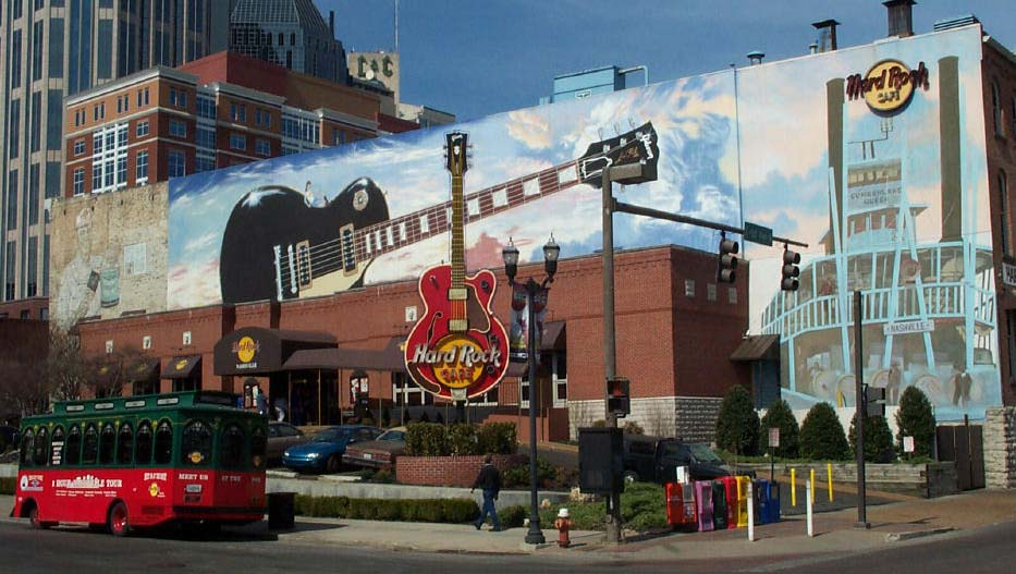 Hard Rock Cafe  Painting