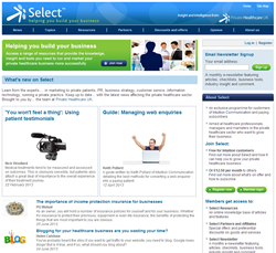 Select Home Page