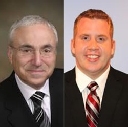 Attorneys Elliot Heidelberger and Anthony Vechiola