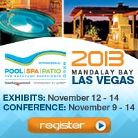 2013 int 39 l pool i spa i patio expo attendee online for Pool spa patio show las vegas
