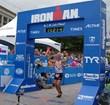 David Daggett Crosses the Finish Line at Ironman Lake Placid