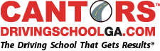 Cantor's Driving School of Georgia logo