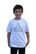 geeky graphic optical illusion t-shirt Phantom Triangles from Tees For Your Head
