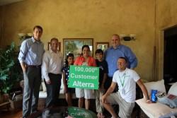 Alterra's 100,000th customer