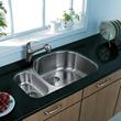 Vigo VG3121R - 31-inch undermount stainless steel 18 gauge double bowl kitchen sink