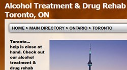 Toronto Drug Rehab - New Web Initiative