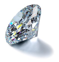 Picture of a diamond as an iconic representation of the Online Pawn Shop Industry