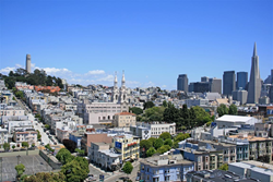 San Francisco North Beach Apartments for rent - Crystal Tower Apartsments - 2140 Taylor Street