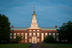 Applications to Bucknell University are up nearly 40 percent.