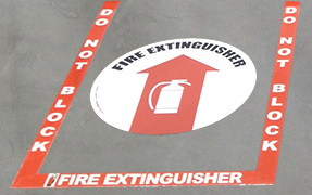 Stop Painting Com Announces New Fire Extinguisher Floor