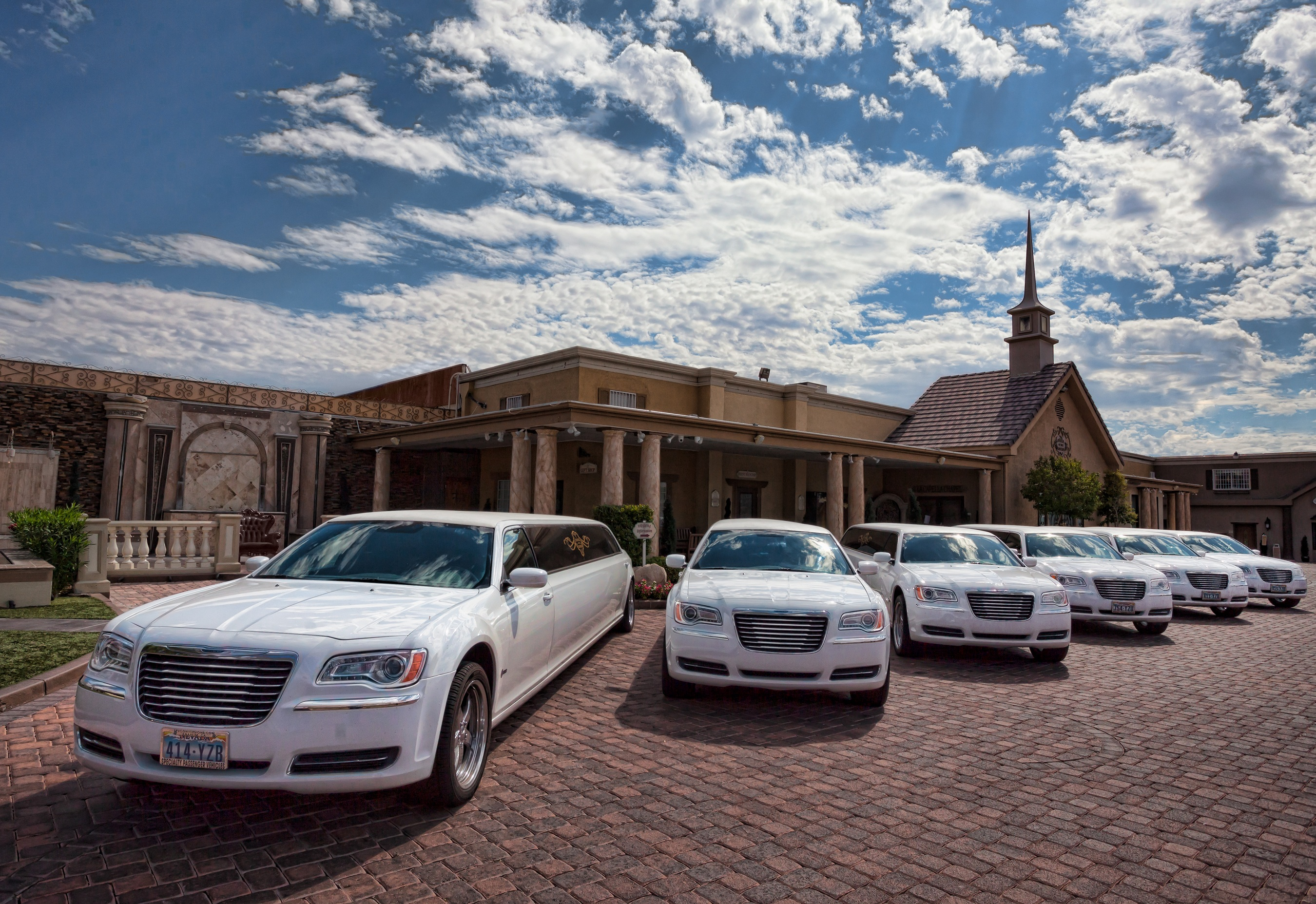 Chapel of the Flowers Rolls in Style with New Fleet of Limos