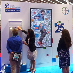 Photo Mosaic Kiosk at XXIV Congress of the ISTH