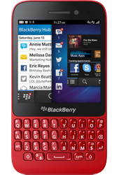 Blackberry Q5 Red Mobile Phone