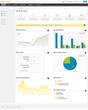 Cloud CRM - Converge Enterprise Dashboard view