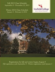 Fall registration at Linfield College starts August 5
