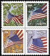 Flags for All Seasons Forever Stamps to be issued at Stamp Show on Thursday, August 8 at noon in the Wisconsin Center.