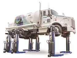 MAHA USA's MCL 12 & MCL 15 mobile column lifts
