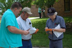 Pettis County officials use the Mesa Rugged Notepad for disaster management
