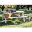 Natural Cedar Picnic Table