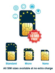 Mobal's New Europe Data Only SIM