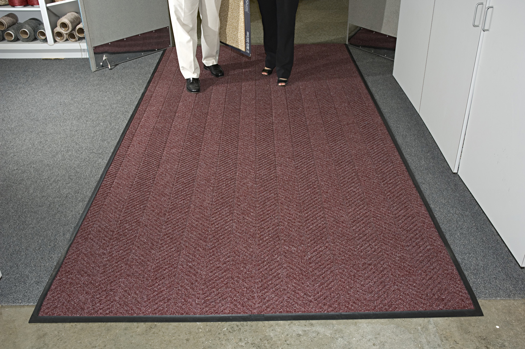 New waterhog eco elite fashion carpet mats from martinson nicholls are durable attractive and - Industrial carpet runners ...