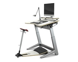 Locus Workstation from Focal Upright, in Glacier White