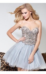 Terani babydoll homecoming dress