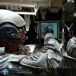 Military Touch Screen Displays from Touch International