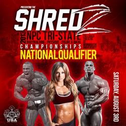 SHREDZ 2013 NPC Tri-State Bodybuilding, Physique, Figure and Bikini Championships poster