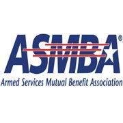 The Armed Services Mutual Benefit Association (ASMBA) logo is shown.