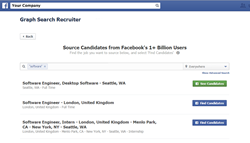 Graph Search Recruiter: Sourcing candidates on Facebook