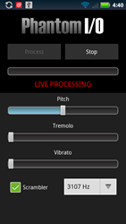 Android Voice Scrambler App