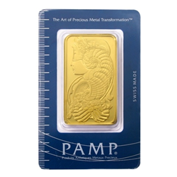 Sealed 100 gram PAMP Suisse Gold Bar