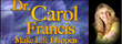 Dr. Carol Francis on Brainspeak Network Today Joining Host of A Walk...