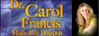 "Dr. Carol Francis Talk Radio Interviews Fundamental and Evangelical Christians Who Protest ""Trump's Dishonest and Inhumane Leadership"""